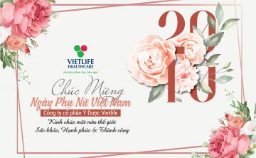Chúc mừng ngày phụ nữ Việt Nam 20-10